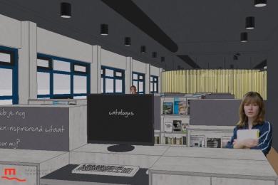 Maaswaal College krijgt nieuwe mediatheek